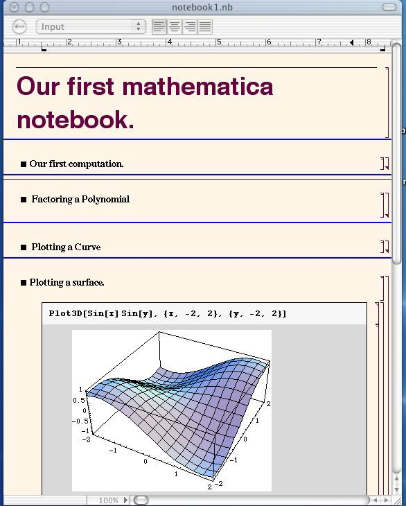 GettingStarted with Mathematica